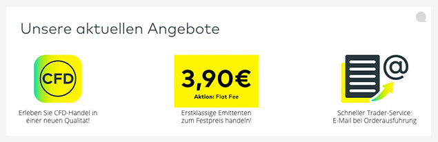 Comdirect Flat Fee