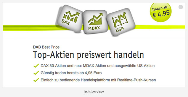 DAB Bank Depot Kosten Best Price