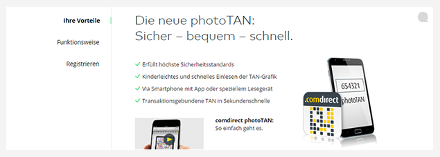 Comdirect photoTAN