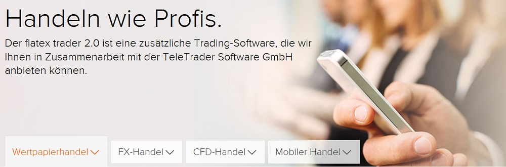 Flatex Handelssoftware
