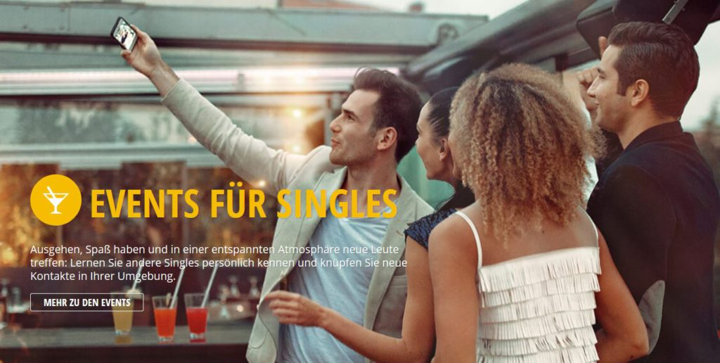 Single-Events bei Friendscout24.de