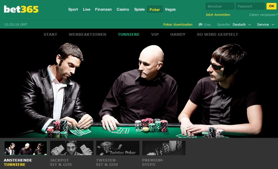 bet365 Poker-Turnier-Angebot