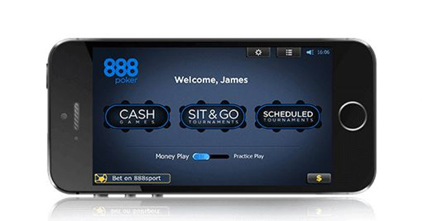 888 Poker Mobile App Angebot