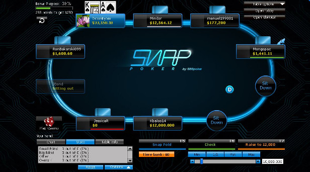 Snap-Turniere bei 88 Poker