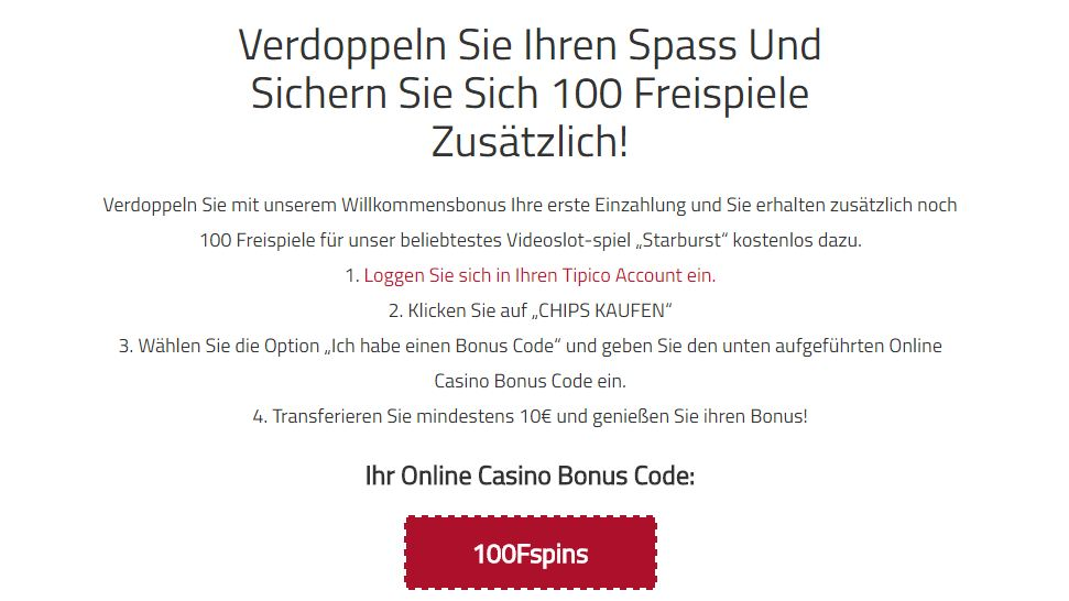 tipico casino log in