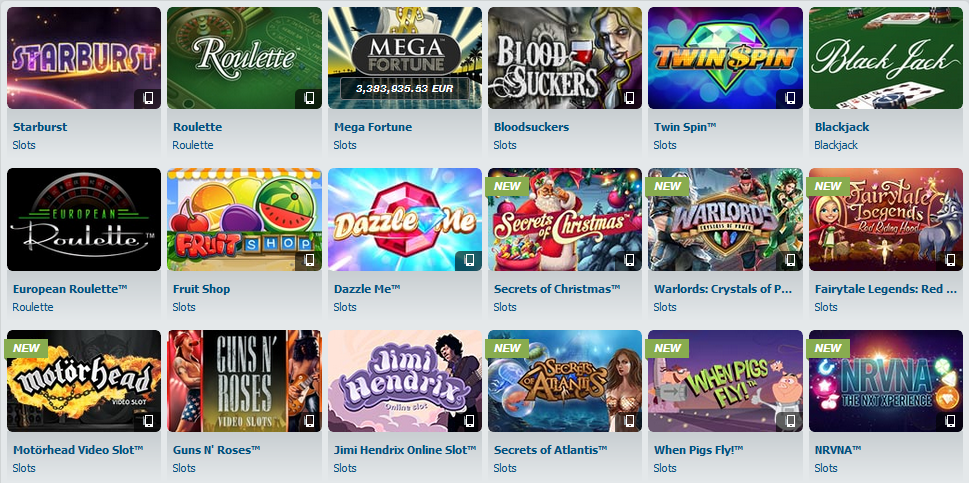 bet-at-home Casino Erfahrungen Spielangebot BlackJack Roulette Slots Spielautomaten