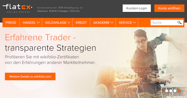 flatex deutscher Broker
